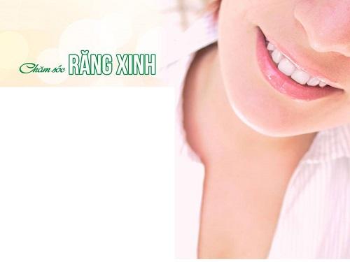 Bọc răng sứ thẩm mỹ chăm sóc răng xinh Nha Khoa MEDIKA