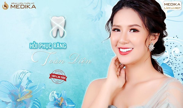 Tẩy trắng răng phục hồi răng toàn diện Nha Khoa MEDIKA