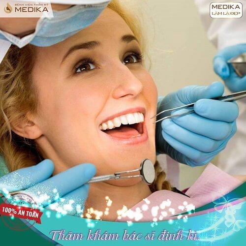 Tổng hợp những vấn đề cần chú ý khi bọc răng sứ Nha khoa MEDIKA