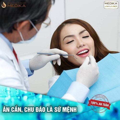 Tẩy trắng răng có ảnh hưởng đến chân răng không? Tại Nha khoa MEDIKA