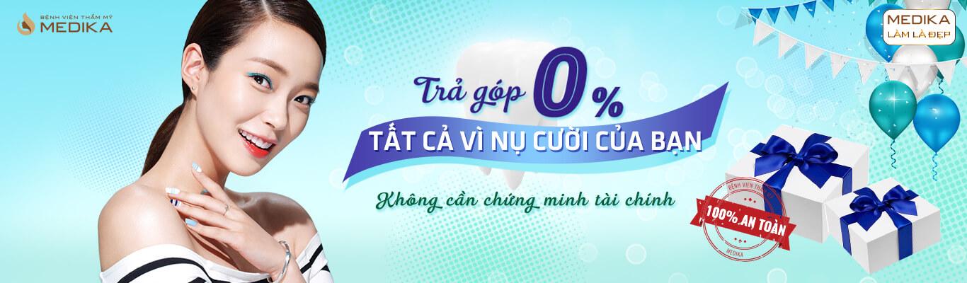 Chào mừng quốc tế phụ nữ Việt Nam 8/3 trả góp 0% nha khoa MEDIKA